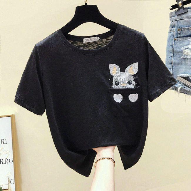 Dámské tričko s krátkým rukávem TF7040 1