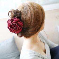 Květina do vlasů - 4 barvy