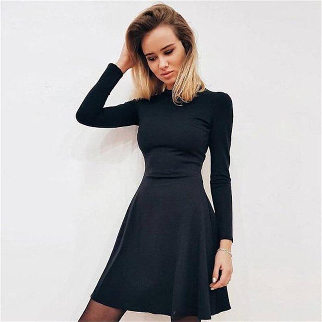 Dámské áčkové šaty 1