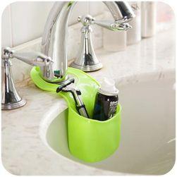 Silikonová kapsa na houbičku či mýdlo - zelená