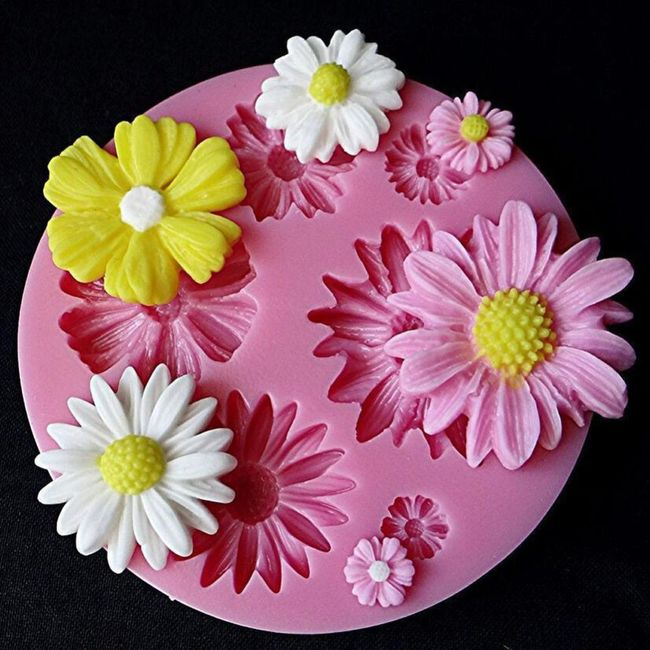 Kalup za ukrašavanje torti - cvetići 1