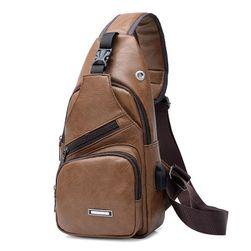 Мужская сумка через плечо PT7