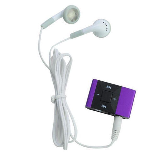 Mini MP3 přehrávač s klipem na TF karty - 5 barev 1