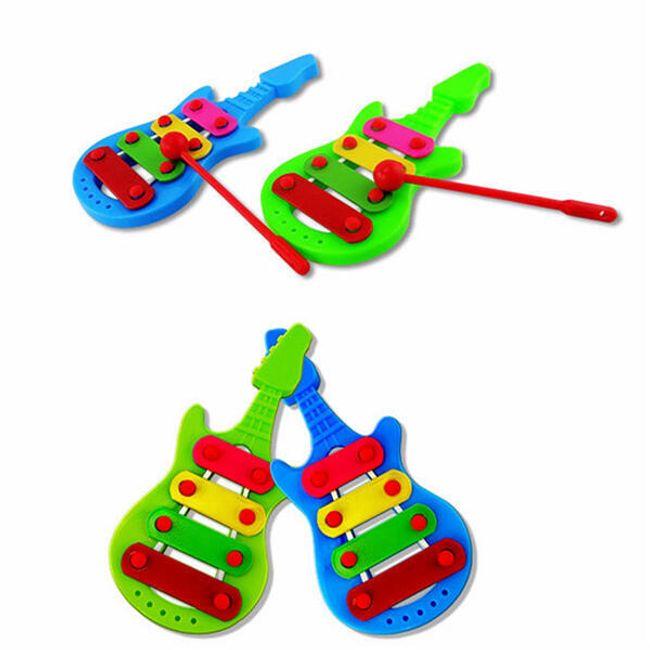 Otroški mini ksilofon v obliki kitare 1