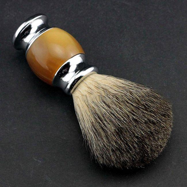 Štětka na holení s masážním efektem pro muže 1