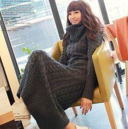 Ženska pletena haljina Waneska
