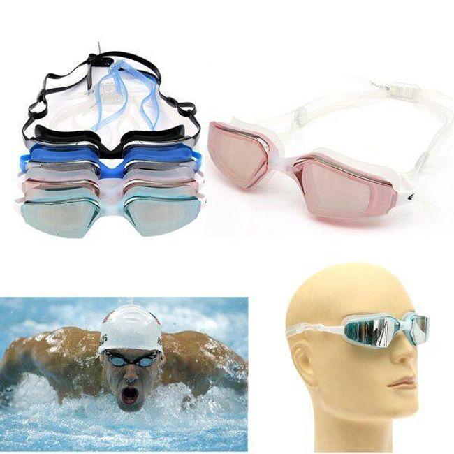 Állítható úszószemüveg - 4 színben 1