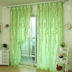 Завеса с мотиви на върбови листа