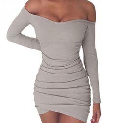 Damska sukienka z długimi rękawami Antonia
