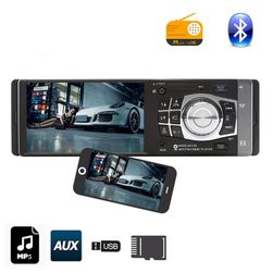 "Autoradio Flare 1DIN, 4,1""LCD MirrorLink, BT"
