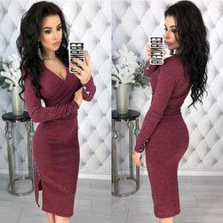 Ženska haljina sa dugačkim rukavima Aimee