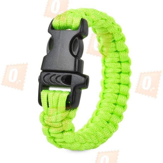 Bratara outdoor paracord - 2 culori 1
