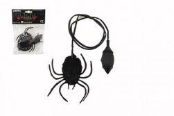 Pavúk skákajúci plyš / plast 7cm v sáčku 14x19x3cm RM_00850013