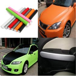 Въглеродно фолио за автомобил - 200 x 40 см