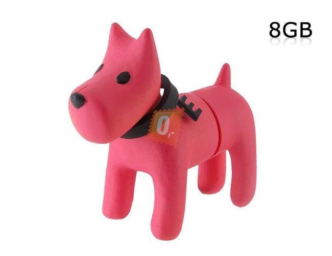 8GB Flashdisk - pes (růžový) 1