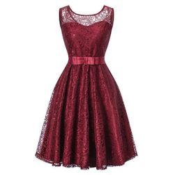 Společenské krajkové šaty - 4 barvy