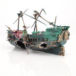 Dekoracija akvarija - brodolom