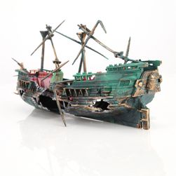 Akvarijní dekorace - vrak lodi