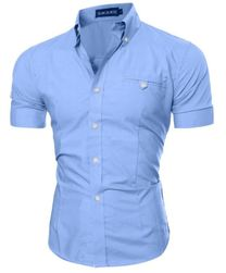 Stylowa koszula męska - 8 kolorów