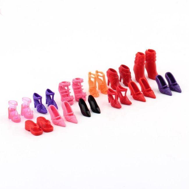 Set cipelica za lutku - 12 parova 1