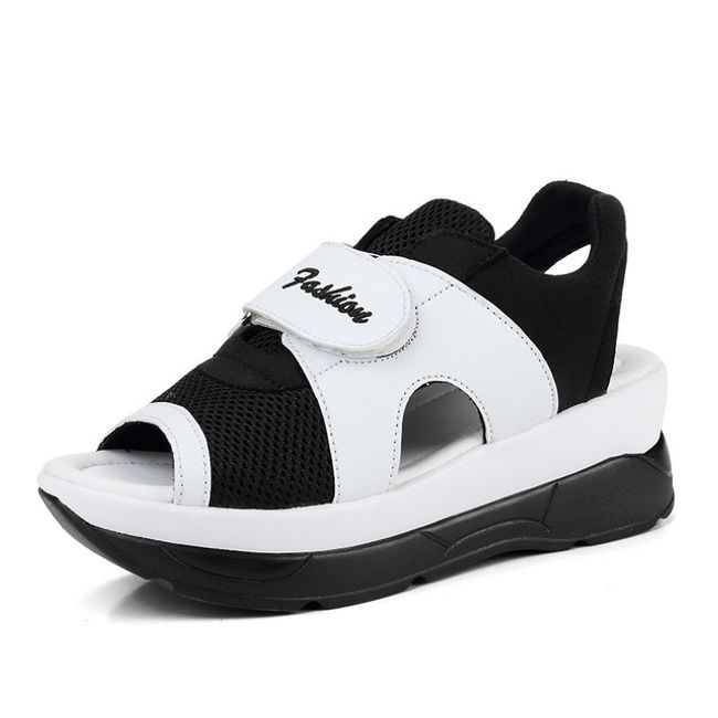 Dámské turistické sandále na suchý zip - 4 barvy 1