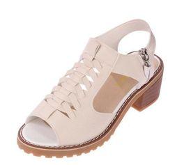 Damskie sandały na obcasie Charlene