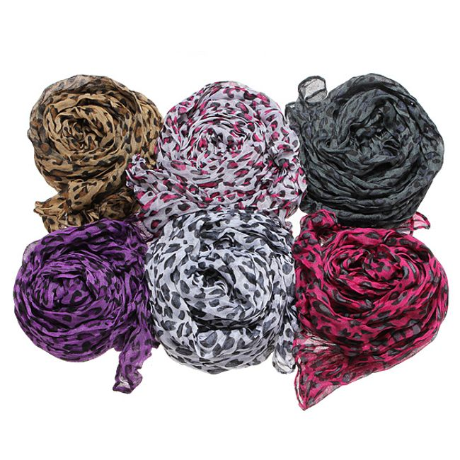 Leopardí šátek pro ženy 1