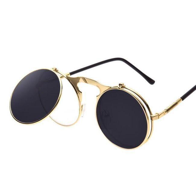 Steampunk očala z zgibnimi lečami - 5 različic 1
