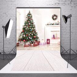 Foto zid sa božićnim dekorom za dom
