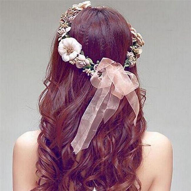 Cvetlični trak za glavo 1