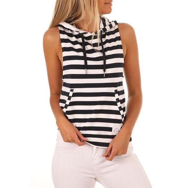 Tričko bez rukávů Bridget 1