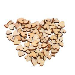 Деревянные сердечки AP125