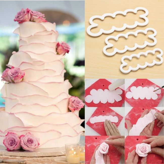 Pasta gül yapım ürünleri 1