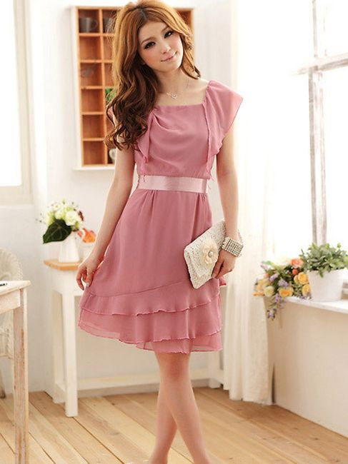 Zanzea® dívčí plesové šaty - 3 barvy 1