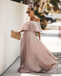 Dámské maxi šaty Lyona