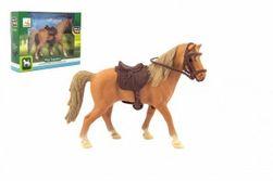 Kôň sa sedlom plast 15cm v krabičke 19x14x5cm RM_00850391