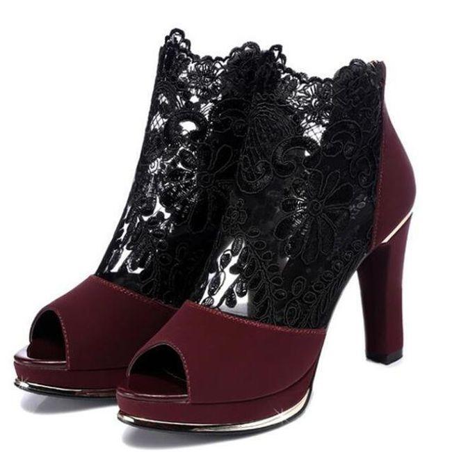 Női magasssarkú cipő Ancelin