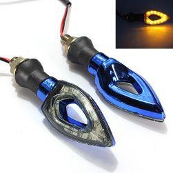 Becuri semnalizare LED pentru motociclete - 12 LED, 2 culori