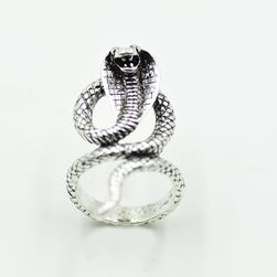 Dámský prsten v podobě kobry