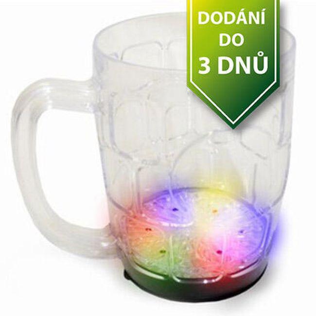 Originální svítící  LED půllitr 1