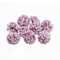 Umělé květiny Hortenzia Světle fialová