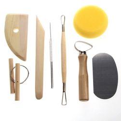 Комплект инструменти за моделаж и скулптура Jonie