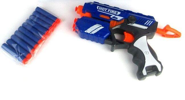 Dětská pistole s náboji Y08 1