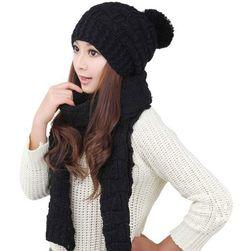 Zimska kapa sa šalom - 5 boja
