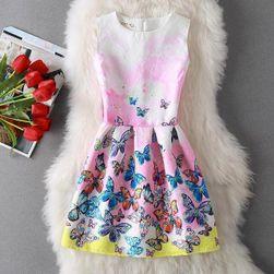 Krásné retro šaty bez ramínek s originálními motivy pro dámy - 23 variant