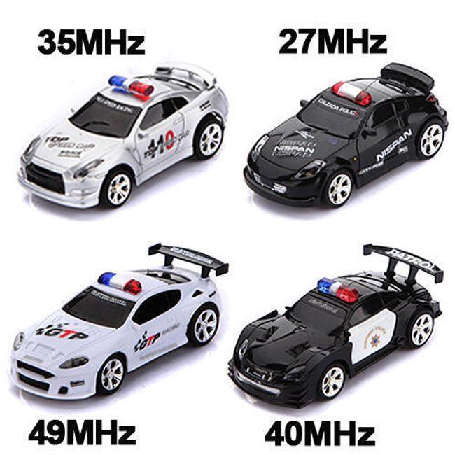 RC policejní autíčko na dálkové ovládání - 4 barvy a 4 frekvence 1