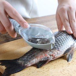 Скребок для чистки рыбы с контейнером