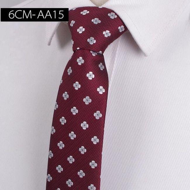 Férfi nyakkendő mintával - 17 változat