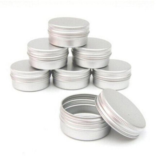 Metalne posude za domaću kozmetiku 1