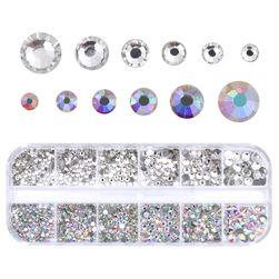 Cutie cu pietre pentru unghii - 12 variante